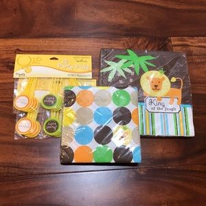 NWT Baby shower supplies for a boy!
